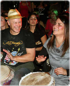 Benefits of Group Drumming