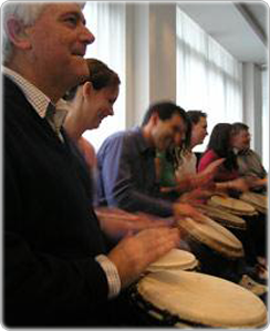 Corporate Drumming