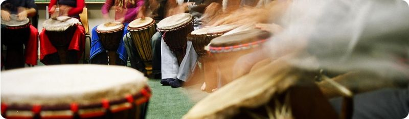 community drumming
